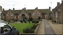 TF0920 : BUC almshouses, West street - the quadrangle by Bob Harvey