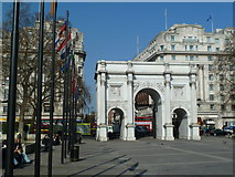 TQ2780 : Marble Arch by Graham Hogg