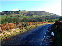 NS2272 : Millhouse Road and Cauldron Hill by Thomas Nugent