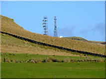 NS2472 : Communications masts by Thomas Nugent
