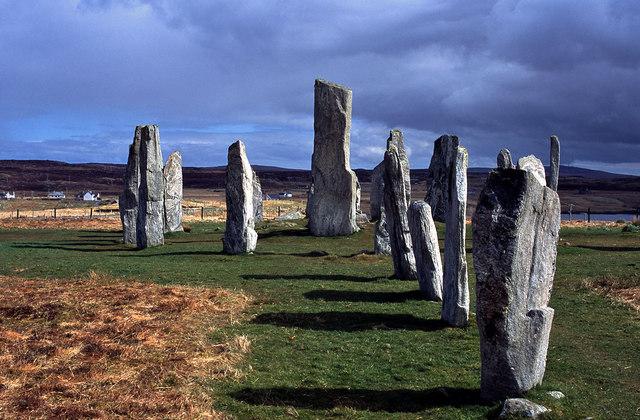 Axis of the Calanais Stone Circle