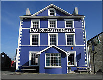 SN4562 : The Harbourmaster Hotel, Aberaeron by Dave Croker