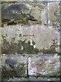 SH5870 : Benchmark on old railway bridge, Llandegai by Meirion