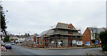 SO9096 : New houses on the Battle of Britain site in Penn, Wolverhampton by Roger  Kidd