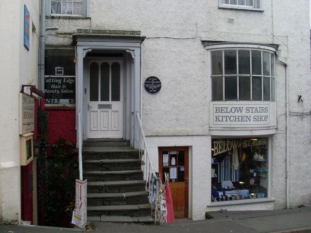 Shop in Church Street, Ambleside