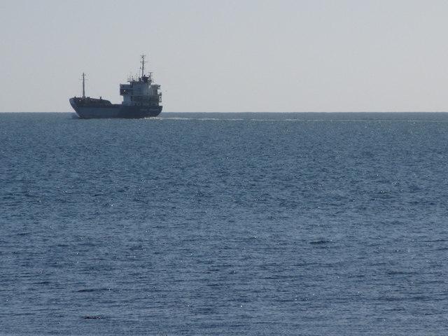 The MV Soul Sound sailing into the distance