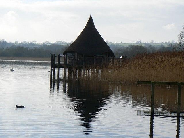 Lake side Crannog