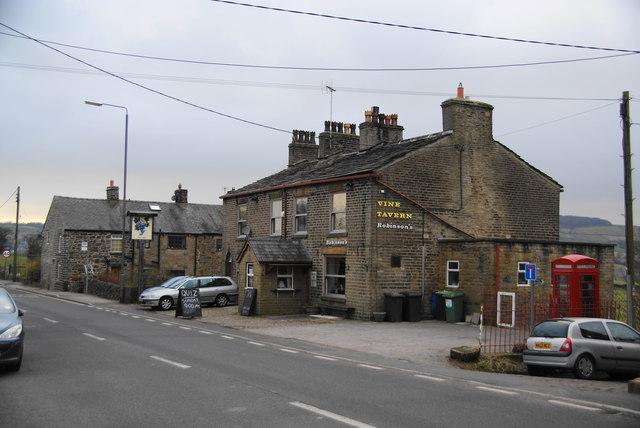 The Vine Tavern, Birch Vale