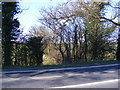 TM4171 : Footpath to South Manor Lane by Geographer