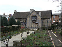 SP2055 : Shakespeare's Birthplace - an alternative view by Alan Murray-Rust