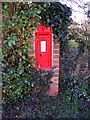 TM3869 : Little Street Victorian Postbox by Adrian Cable