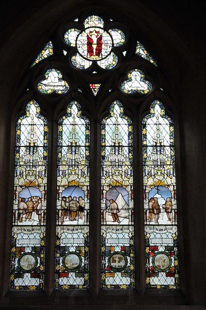 Scott Stained Glass Window Binton 169 Philip Halling