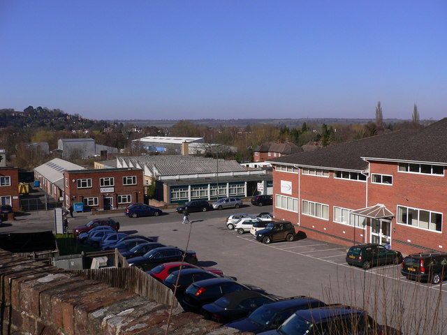 Industrial estate by Godalming by Shazz