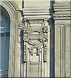 SN5981 : Detail, National Library of Wales, Aberystwyth by Dylan Moore