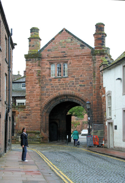 Cathedral gatehouse.