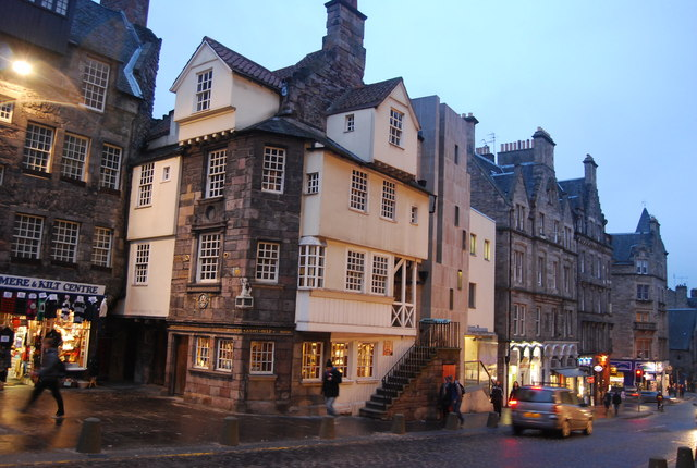 John Knox House, The Royal Mile