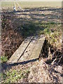 TM3869 : Footbridge on footpath to the A1120 Yoxford Road by Geographer