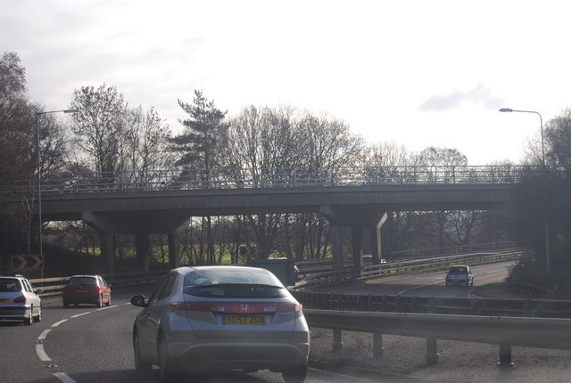 A322 / A30 road junction