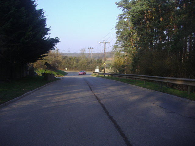 Entrance to Veolia Environmental Services, Wapsey Wood Caravan Park, Gerrards Cross