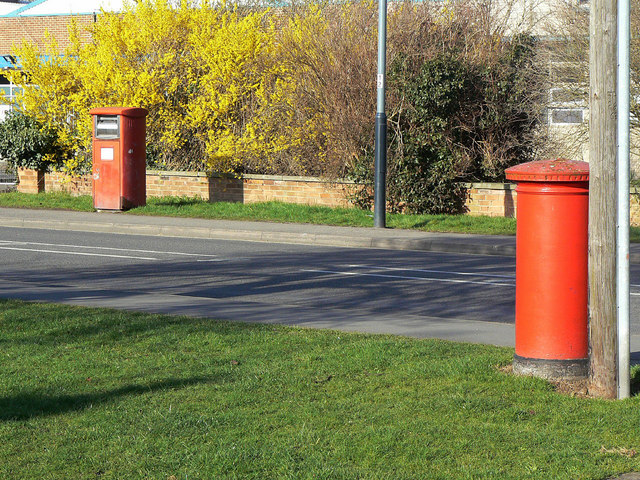 Postboxes on Masons Road