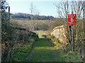 TQ1248 : Bridge over railway on Wotton footpath 115 by Robin Webster