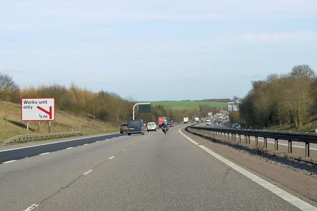 M4 near Welford