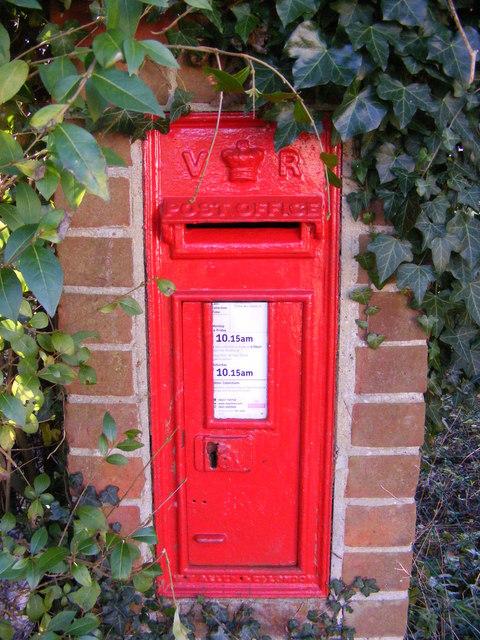 Little Street Victorian Postbox