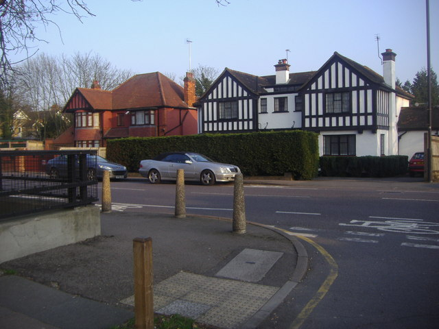 Eastcote Road from junction of Holwell Place