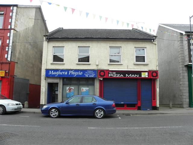 Maghera Physio The Pizza Man Kenneth Allen Geograph