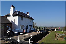 SP6989 : Grand Union Canal - Foxton Top Lock by Ashley Dace