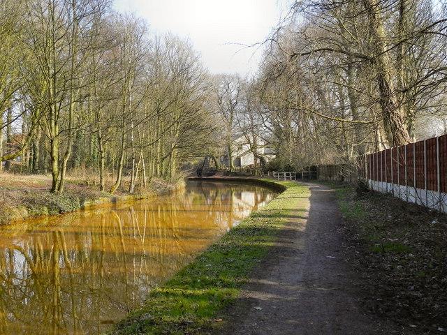 Bridgewater Canal, Approaching Worsley