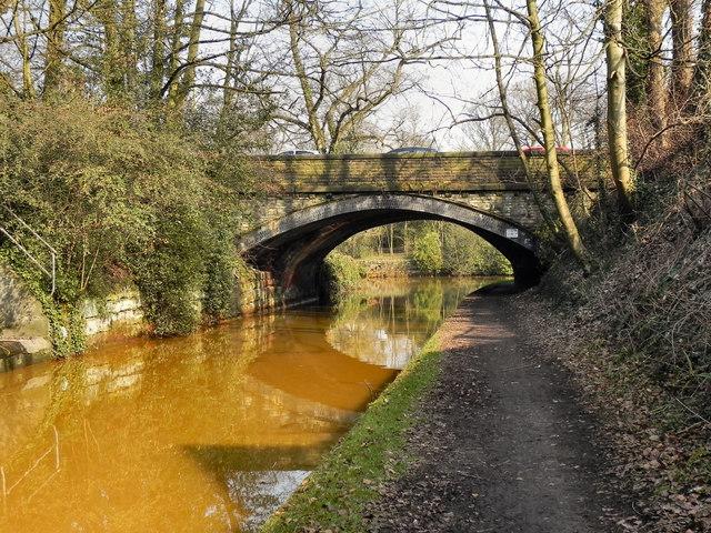 Bridgewater Canal, Worsley Bridge