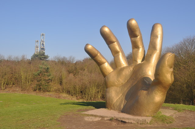 Golden Hand and Colliery