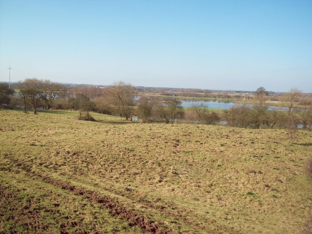 Meadow Overlooking the River Trent
