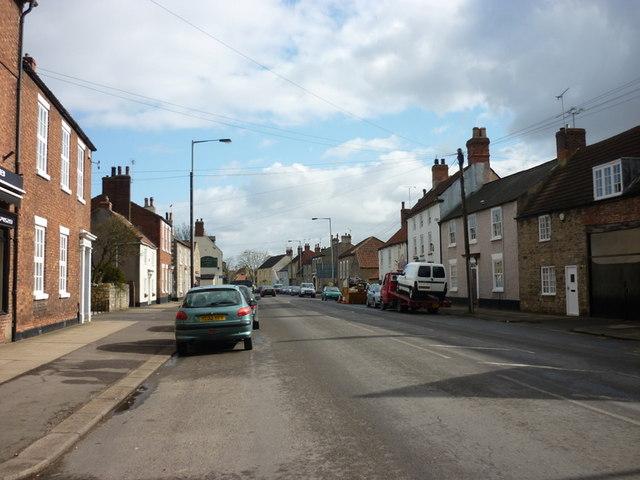The A631, Sunderland Street, Tickhill