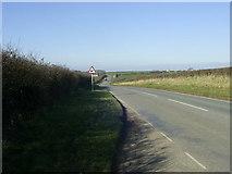 SM9306 : Unclassified road looking towards Lower Scoveston Farm by Martyn Harries