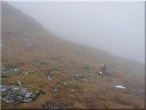 NN2119 : Picnic below Point 901 by Richard Law