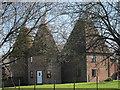 TQ6444 : Brook Farm Oast, Sychem Lane, Five Oak Green, Kent by Oast House Archive