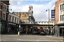 TQ3382 : Shoreditch:  Old Street, looking west by Dr Neil Clifton