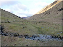 NN2318 : A ford on the Glen Fyne track by Richard Law