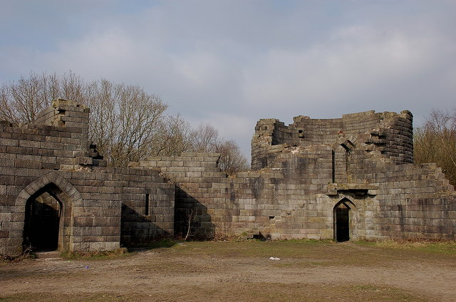replica of liverpool castle  rivington  u00a9 jim barton cc 2 0    geograph britain and ireland