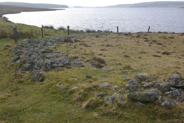 Ring cairn by Llyn Brenig