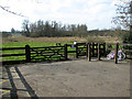 TG2105 : Entrance to Marston Marsh in Eaton (Norwich) by Evelyn Simak