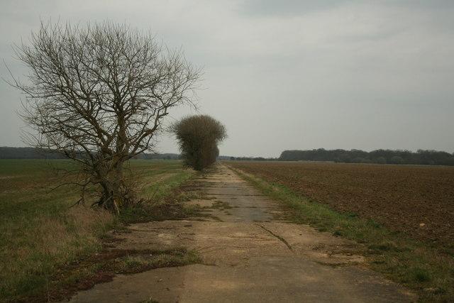 RAF Desborough Main Runway