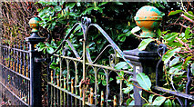 J2564 : Old gate, Lisburn by Albert Bridge