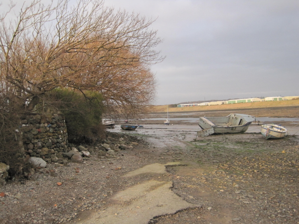 Footpath around North Scale, Walney Island