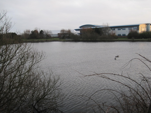 Small Reservoir behind Travelodge, Barrow in Furness