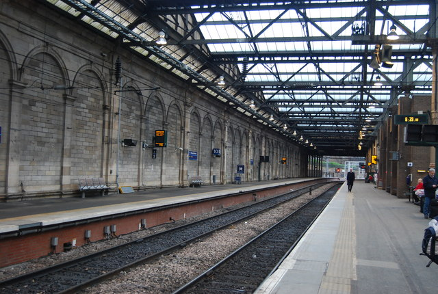 Platforms 10 and 11, Waverley Station