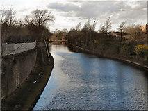 SJ7797 : Bridgewater Canal, Trafford Park by David Dixon