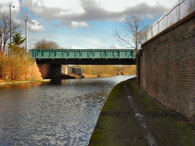 Bridgewater Canal,  Ashburton Road Bridge